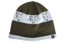 Fox Green / Silver Beanie
