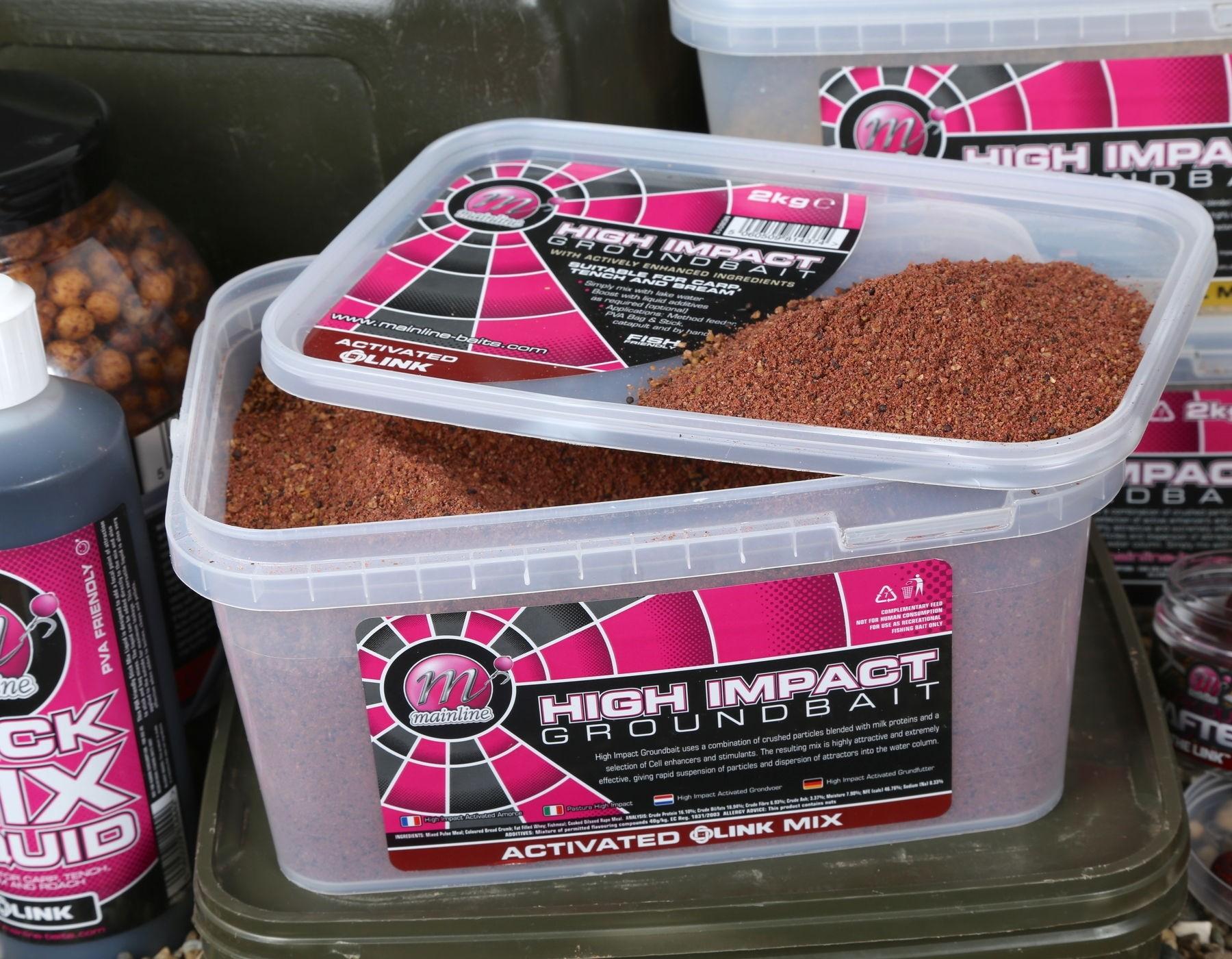 2KG BUCKET OF MAINLINE SPOD /& PELLET MIX HI IMPACT GROUNDBAIT FOR CARP FISHING
