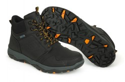 Fox Collection Black Orange Mid Boot