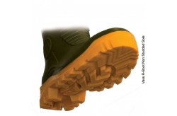Vass R Boot - Khaki/Yellow