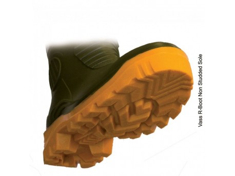 Vass R Boot - Khaki/Yellow