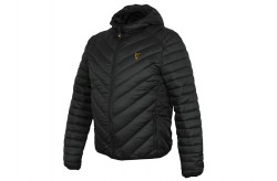Fox Collection Quilted Jacket Nero- Verde