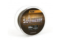 Submerge Sinking Braided Mainline - Dark Camo 55Lb/0.30mm 600mt