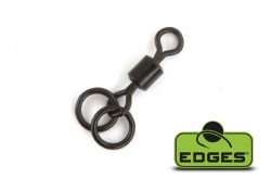 Edges Double Ring Swivel - size 7