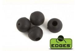 Edges Tungsten Beads 5mm