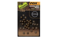 Edges Tapered Bore Bead 4mm Camo