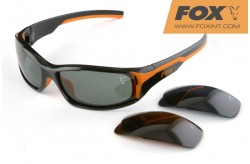 Fox Vario Black Frame with 3 lenses