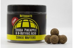 Nutrabaits Trigga: Pineapple & Butyric Dumbells Corkie Wafter Hookbait Range