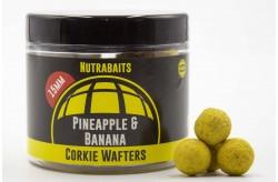 Nutrabaits Pineapple & Banana Corkie Wafter Hardhookbait Range 15 mm