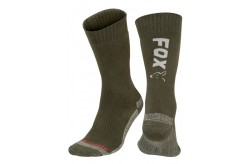 Fox Thermolite Long Sock Green/Silver
