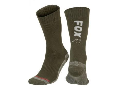 Fox Thermolite Long Sock Green/Silver