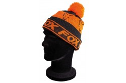 Fox Black/Orange Lined Bobble