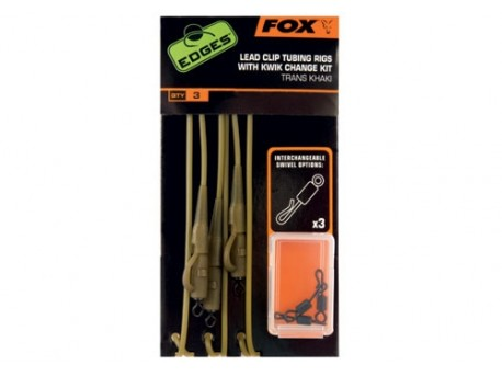 Fox Edges Lead Clip Tubing Rig