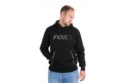 Fox Black Camo Print Hoody