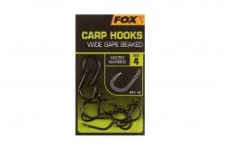 Fox Carp Hook Wide Gape Beaked