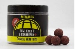 Nutrabaits Corkie Wafter Hookbait Range BFM Krill & Cranberry