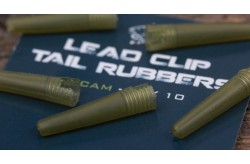 Lead clip tail rubber