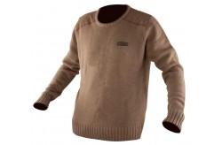 Chunk Heavy knit jumper khaki