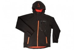 Softshell jacket Black Orange L