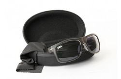 CHUNK™ Avius Sunglasses char trans frame gre