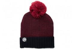 Hats Fox Chunk Beanie Burgundy/Black