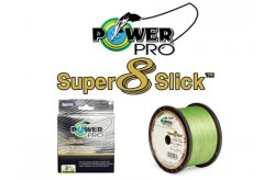 Power Pro Super 8 Slick Aqua Green - 0.23mm 1370mt