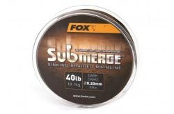 Fox Submerge 0.20 sinking braided mainline mt 300