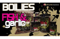 Hook Baits Boilies Fish e Garlic 400 gr