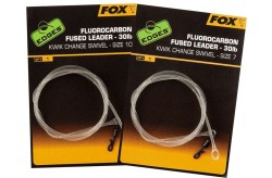 Edges Fluorocarbon Fused Leaders