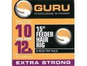 15' Feeder Hair Rigs Standard