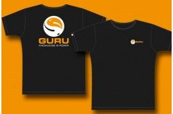 Guru Logo T-Shirt Black