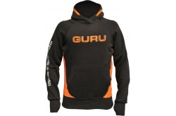 Guru Hoodie Black/Orange XLarge