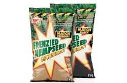 Frenzied Hempseed Groundbait Match Black - 1kg