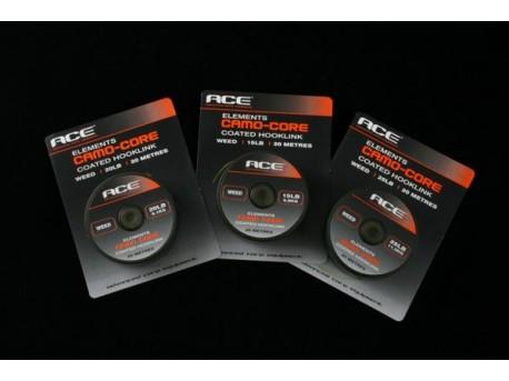 Camo-Core Coated Hooklink - Ghiaia 15 lbs