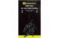 Ridgemonkey Heli Ring Swivel size 8