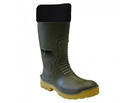 Vass Winter Boot - Green/Yellow