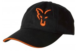 Fox Black/ Orange Baseball cap