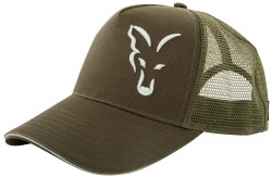 Fox Green/Silver Trucker Cap