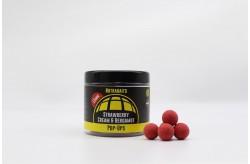 Strawberry, Cream & Bergamot Shelf-Life Pop Ups - 15mm