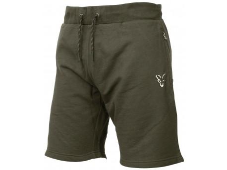 Fox Collection Green & Silver Lightweight Shorts