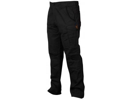 Fox Collection Black & Orange Combat Trousers
