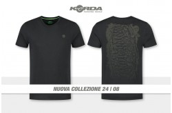 Korda Scaley Tee Black Olive Print