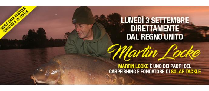 Ospite Speciale a Carpfishingonline Martin Locke