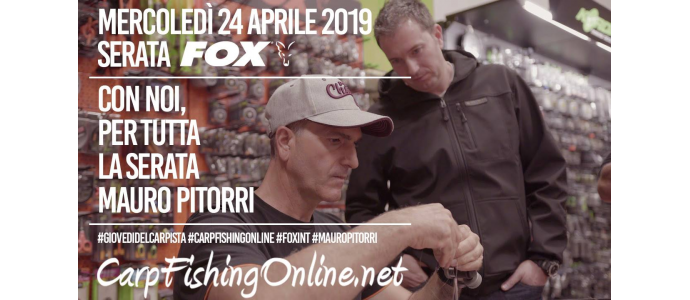 Serata FOX a Carpfishingonline