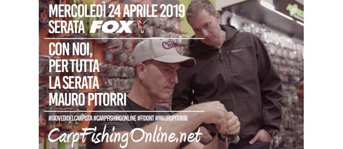 Serata FOX a Carpfishingonline