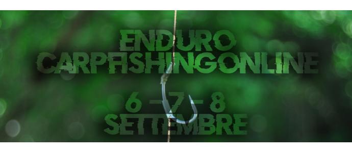 Enduro carpfishingonline 6-7-8 settembre