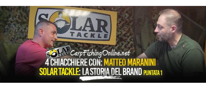 4 Chiacchiere con Matteo Maranini: La storia del brand